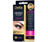 Delia Henna Tint eyebrow coloring gel 1.0 black 1 piece