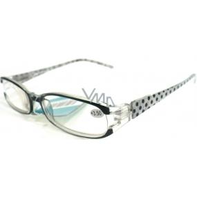 Berkeley Reading glasses + 3.50 black polka dots CB02 1 piece MC2089