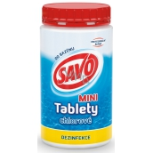Savo Mini Chlorine tablets for swimming pool - disinfection 900 g