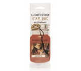 Yankee Candle Leather - Leather Classic fragrance paper sticker