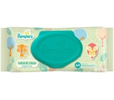 Pampers Natural Clean with Camomile Wet Wipes for Very Sensitive Skin for Kids 64 Pieces, Non-Fragrant