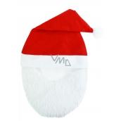 Santa Claus / Santa Christmas hat with beard