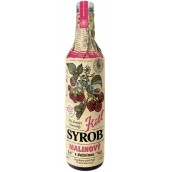 Kitl Syrob Bio Raspberry with pulp syrup for homemade lemonade 500 ml
