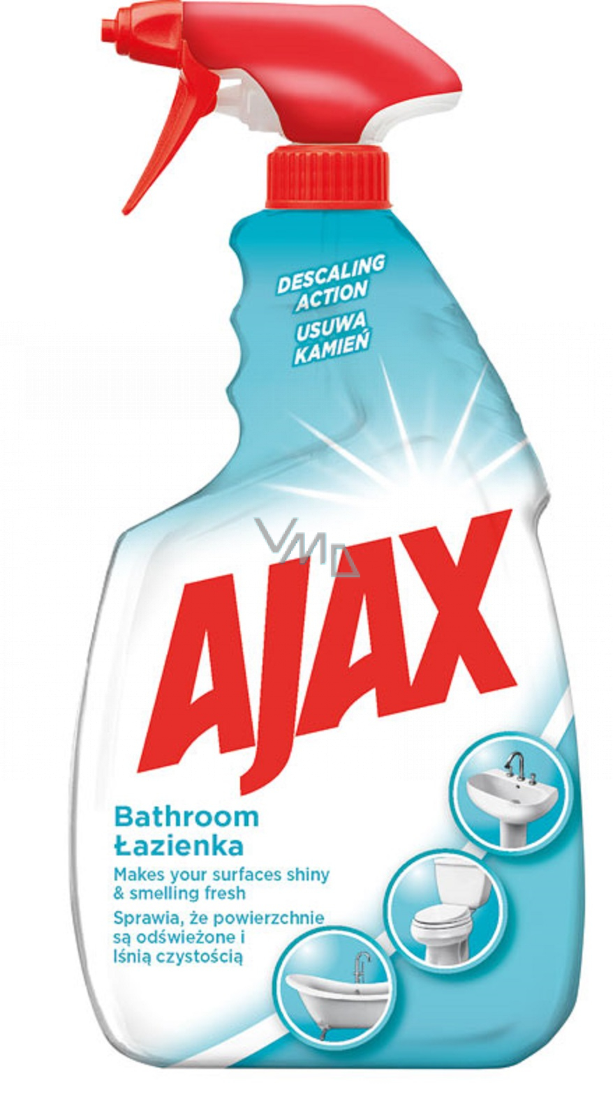 Ajax Bathroom Bathroom cleaner spray 750 ml - VMD ...