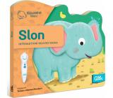 Albi Magic reading interactive minibook with a cutout Elephant, age 2+