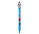 Colorino Rubber pen Disney Emoji light blue, blue refill 0.5 mm