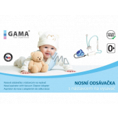 GAMA Nasal aspirator with a vacuum cleaner attachment