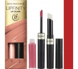 Max Factor Lipfinity Lip Color Lipstick & Gloss 120 Hot 2.3 ml and 1.9 g