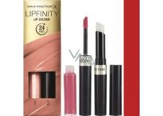 Max Factor Lipfinity Lip Color Lipstick & Gloss 120 Hot 2.3 ml and 1.9 g