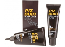 Piz Buin Ultra Light SPF15 Tanning Fluid 150 ml + SPF15 Tanning Fluid 50 ml