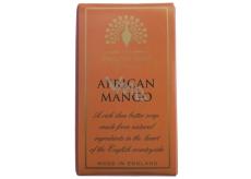 English Soap Africké Mango Přírodní parfémované mýdlo s bambuckým máslem 200g