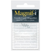 If Magnifier Credit Card size Magnifier credit card 10.6 x 6 x 0.2 cm