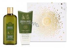 Erbario Toscano Olive oil shower gel 250 ml + hand cream 100 ml, luxury cosmetic set
