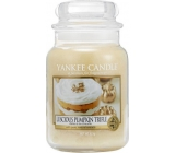 Yankee Candle Luscious Pumpkin Trifle - Delicious pumpkin delicacy scented candle Classic large glass 623 g