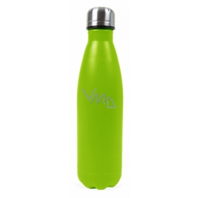 Neon yellow thermo bottle