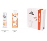Adidas Adipower antiperspirant deodorant spray for women 150 ml + shower gel 250 ml, cosmetic set