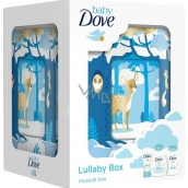 Dove kaz.Baby shampoo for body and hair 200 ml + body lotion 200 ml + sore cream.45 g + music box