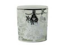 Albi Christmas glass candlestick - sapling