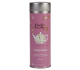 Česky Tea Shop Bio Pure camomile 15 pieces of biodegradable pyramids of tea in a recyclable tin jar 30 g, gift set