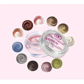 Dermacol Pearl Touch Eyeshadow Highly Shimmering Foam Eyeshadow 4.9g Shade 2