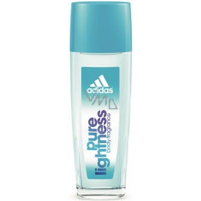 Adidas Pure Lightness parfémovaný deodorant sklo pro ženy 75 ml