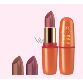 Dermacol Sun Lips SPF15 Sun shine rtěnka 01