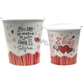 Nekupto Gift Center Gift box for a small flowerpot From love diameter 11 cm