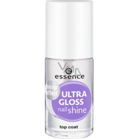 Essence Ultra Gloss rychleschnoucí krycí lak na nehty 8 ml