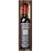 Bohemia Gifts Merlot Beautiful birthday red gift wine 750 ml