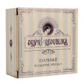 Bohemia Gifts & Cosmetics First Republic Lavender with herbal extract, glycerin handmade soft toilet soap for women 140 g