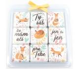 Nekupto Chocolate Puzzle Valentine's Day Foxes 9 x 5 g WQ 011