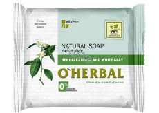 About Herbal Natural Neroli and white clay toilet soap 100 g