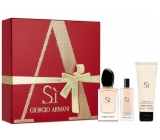 Giorgio Armani Scented water 50 ml + 15 ml perfumed water + 75 ml body lotion, gift set