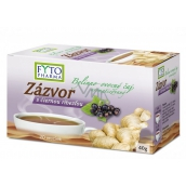 Fytopharma Ginger with blackcurrant herbal-fruit tea for normal vascular activity and refreshment 20 x 2 g
