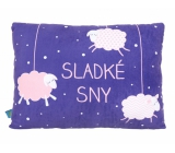 Albi Large humorous pillow Sheep 36 cm × 30 cm