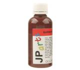 JP arts Paint for textiles for light materials, glitter 11. Dark brown 50 g