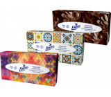 Linteo Satin paper handkerchiefs 2 ply 100 pieces box