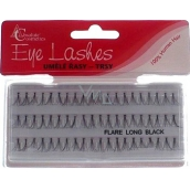 Absolute Cosmetics Eye Lahes Long Artificial sticky clumps 14110-L black 60 clumps