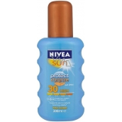 Nivea Sun Protect & Bronze SPF30 + Intensive Sunbathing Spray 200 ml