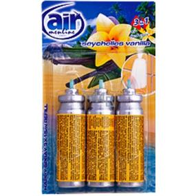 Air Menline Seychelles Vanilla Happy Refresher refill 3 x 15 ml spray