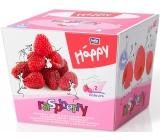Bella Happy Baby Raspberry hygienic handkerchiefs 2 layer 80 pieces