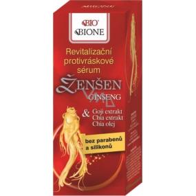 Bione Cosmetics Ginseng revitalizing anti-wrinkle serum 40 ml