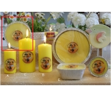 Lima Citronela Mosquito Candle Fragrant Repellent Plate 4 Wings 185 g