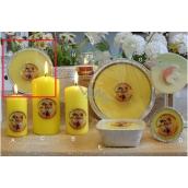 Lima Citronella mosquito candle fragrant repellent plate 4 wicks 185 g