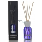 Millefiori Milano Natural Cold Water - Cool Water Diffuser 500 ml + 12 stalks 35 cm long for large spaces last 6-7 months
