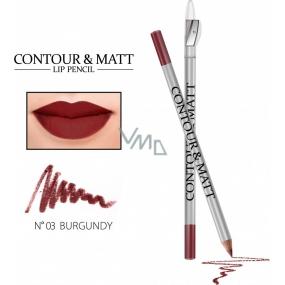 Lip Pencils Burgund 03