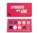 Makeup Obsession Intoxicated By Love Palette of 10 pigmented metallic, shimmering and transitional eye shadows 13 g