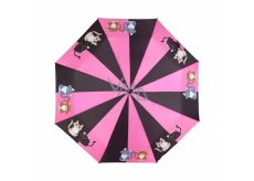 Albi Original Folding Umbrella Cat 25 cm x 6 cm x 5 cm