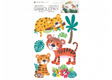 Room Decor Tigers wall sticker 24 x 42 cm
