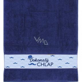 Albi Towel Perfect guy dark blue 90 cm × 50 cm